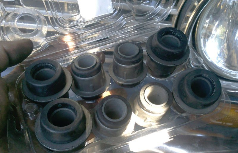 Замена сайлентблоков на ваз 2106