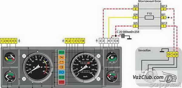 двигателе Ваз 2107,