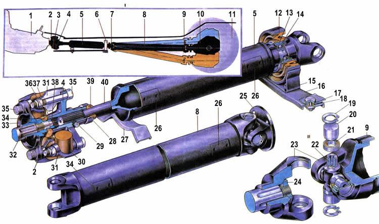 Подшипник промежуточной шестерни для компрессора двигателя.